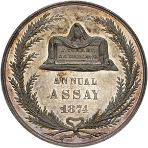 1874 JK-AC-13 U.S. ASSAY COMMISSION AR MS reverse