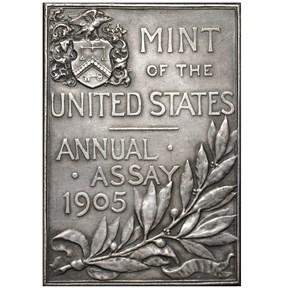 1905 JK-AC-49 U.S. ASSAY COMMISSION AR MS reverse