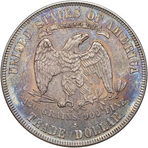 1878 S T$1 MS reverse