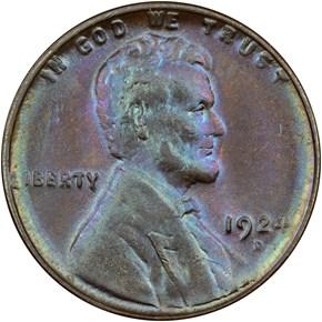 1924 D 1C MS obverse