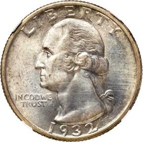 1932 S 25C MS obverse