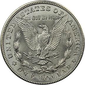 1921 S $1 MS reverse