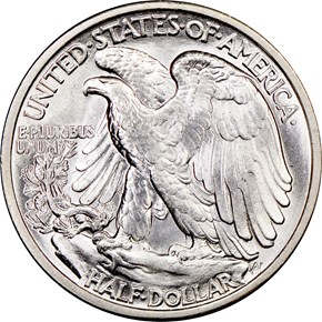 1918 50C MS reverse
