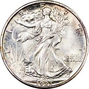 1923 S 50C MS obverse