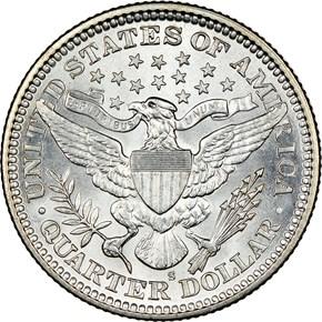 1909 S 25C MS reverse