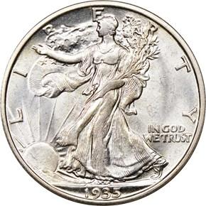 1935 S 50C MS obverse