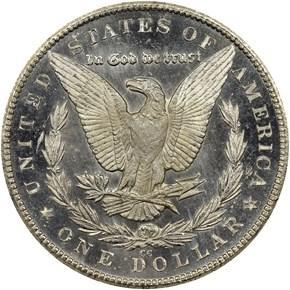 1879 CC $1 MS reverse