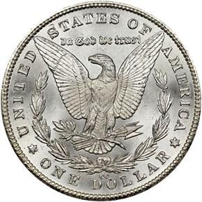 1881 CC $1 MS reverse