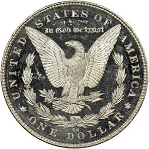 1890 CC $1 MS reverse