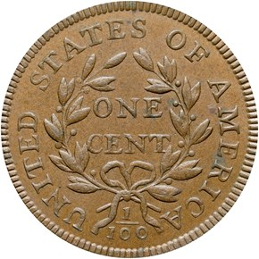 1797 STEMS REV OF 97 1C MS reverse