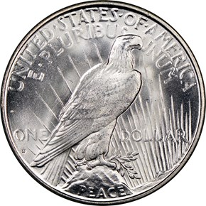 1928 S $1 MS reverse