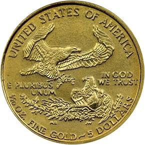 1994 EAGLE G$5 MS reverse