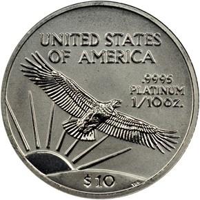1998 EAGLE P$10 MS reverse