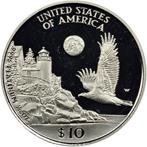 1998 W EAGLE P$10 PF reverse