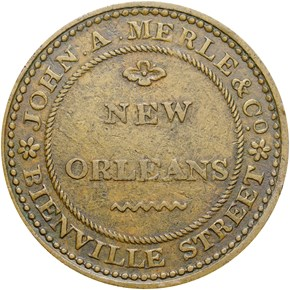 (1835-41) N. ORLEANS HT-122 LA MS reverse