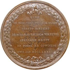 (1868-80) J-MI-9, AE LT. COL. JOHN E. HOWARD 46mm reverse