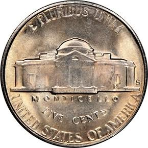 1954 S 5C MS reverse