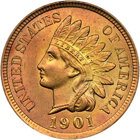 1901 1C MS obverse