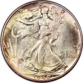 1940 50C MS obverse