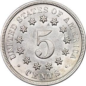 1868 5C MS reverse