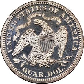 1868 25C PF reverse