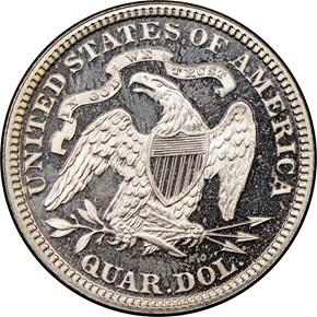 1891 25C PF reverse