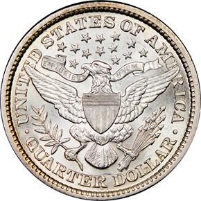 1897 25C MS reverse