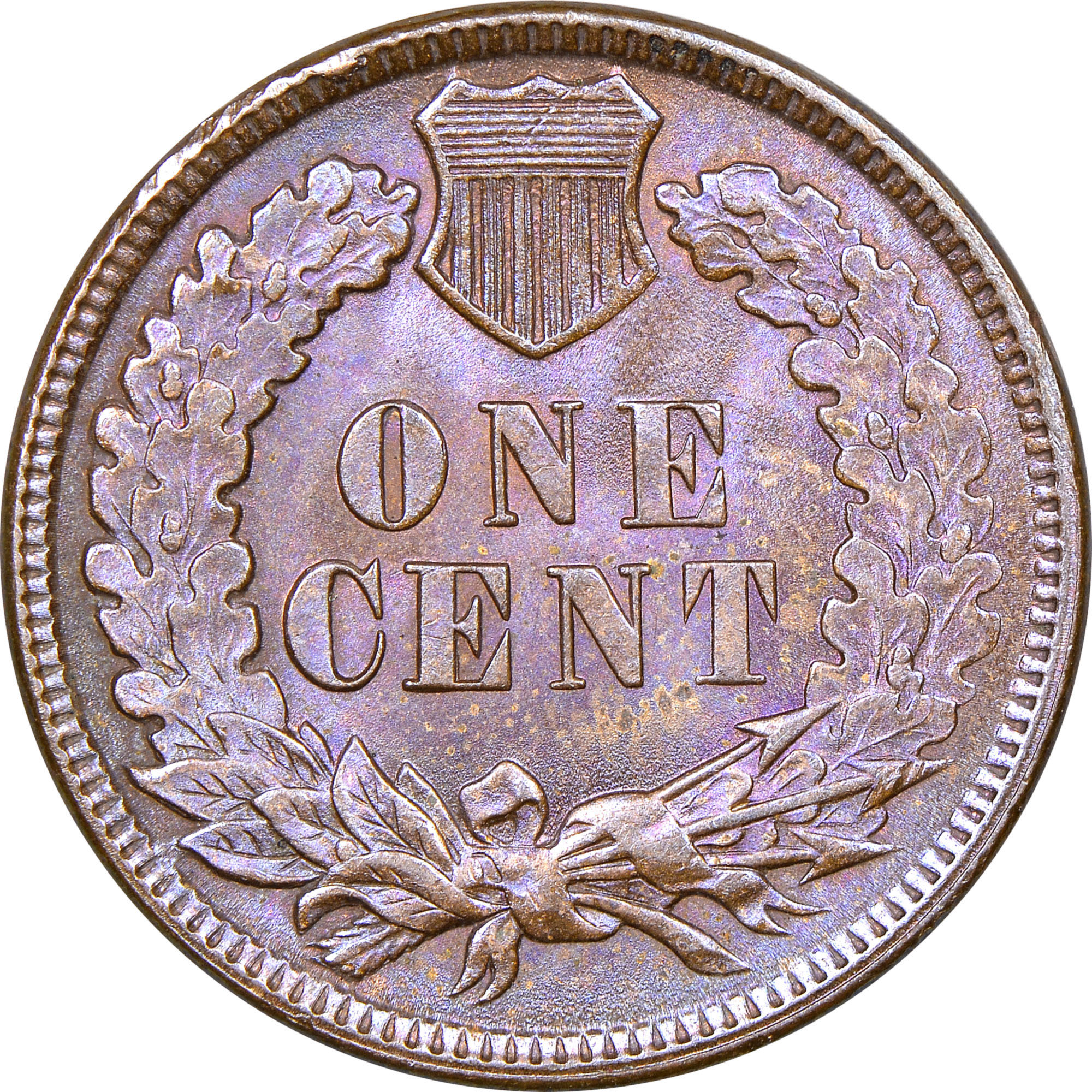 Circulated US Coin 1890 Indian Head Cent Penny