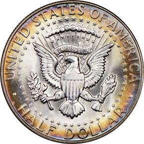 1968 D 50C MS reverse