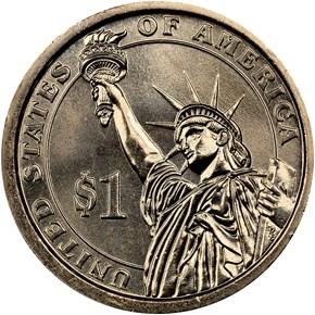 2013 P THEODORE ROOSEVELT $1 MS reverse