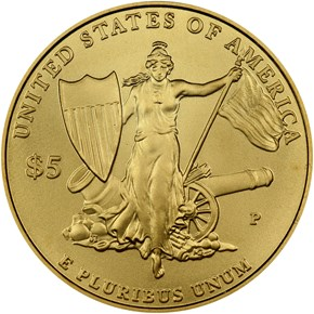 2011 P MEDAL OF HONOR $5 MS reverse