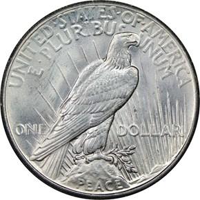 1927 $1 MS reverse