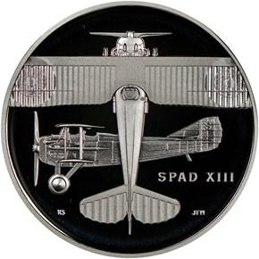2018 D Silver WWI - U. S. Air Service MEDAL PF obverse