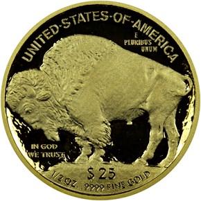 2008 W BUFFALO .9999 FINE G$25 PF reverse