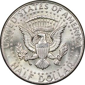 1964 50C MS reverse
