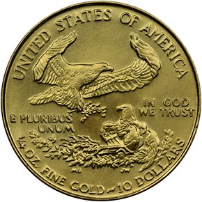 1991 EAGLE G$10 MS reverse