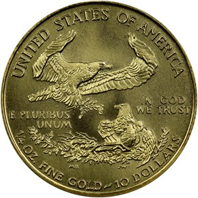 1999 W EAGLE WITH W G$10 MS reverse