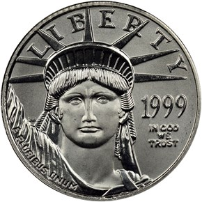 1999 EAGLE P$10 MS obverse