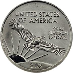 1999 EAGLE P$10 MS reverse