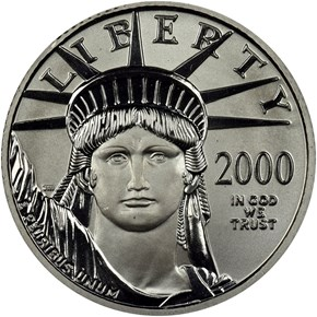 2000 EAGLE P$25 MS obverse
