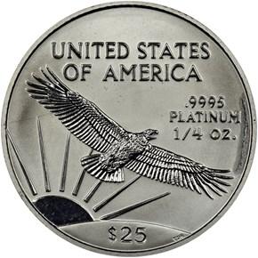 2000 EAGLE P$25 MS reverse