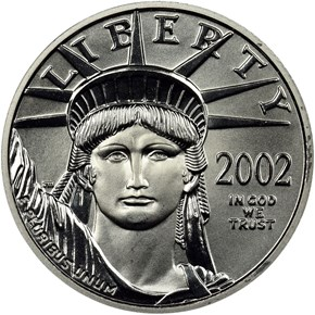 2002 EAGLE P$25 MS obverse