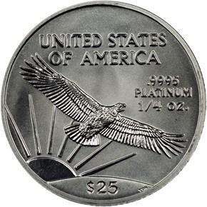 2002 EAGLE P$25 MS reverse