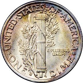 1937 S 10C MS reverse