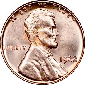 1962 1C MS obverse