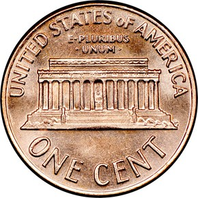 1972 S 1C MS reverse