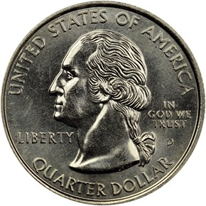 1999 D CONNECTICUT 25C MS obverse