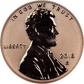 2018 S Early Releases 1C RP obverse