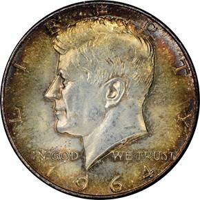 1964 50C MS obverse