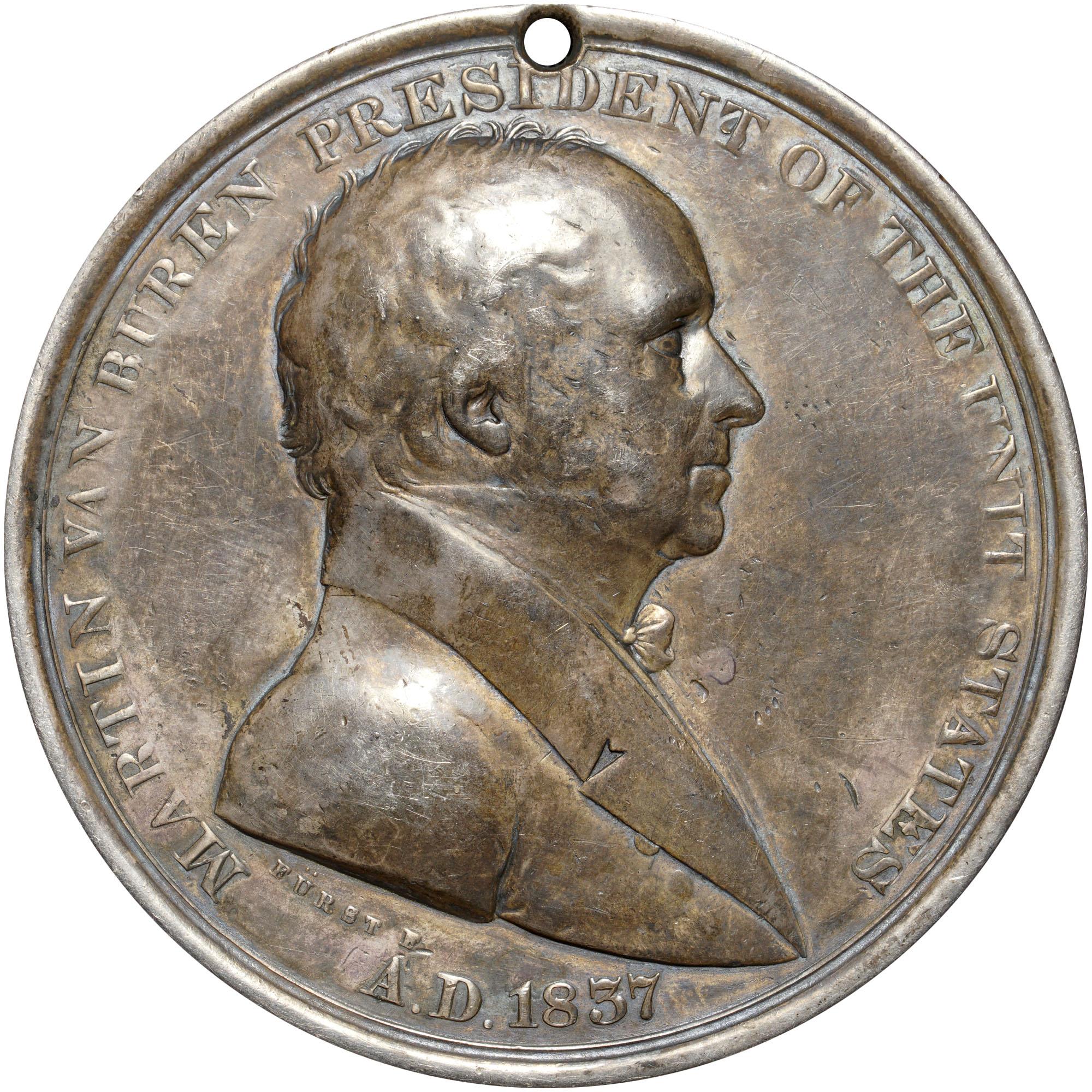 martin van buren coin 1837
